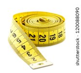 Measuring Tape Isolated On...