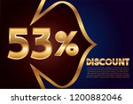 53  off discount promotion sale ... | Shutterstock .eps vector #1200882046