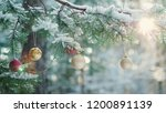 beautiful branch of the new... | Shutterstock . vector #1200891139
