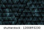 dark blue abstract tech... | Shutterstock .eps vector #1200893230