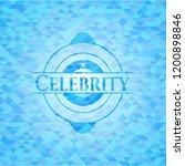 celebrity light blue emblem... | Shutterstock .eps vector #1200898846
