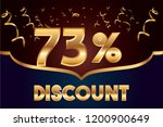 73  off discount promotion sale ...   Shutterstock .eps vector #1200900649