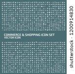 shopping and e commerce vector... | Shutterstock .eps vector #1200914830