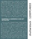 shopping and e commerce vector... | Shutterstock .eps vector #1200914833
