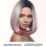 Ombre Bob Short Hairstyle....