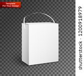 white product package box... | Shutterstock .eps vector #1200918979