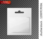 plastic transparent blister... | Shutterstock .eps vector #1200919036