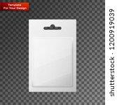 plastic transparent blister... | Shutterstock .eps vector #1200919039