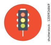 traffic lights vector icon   Shutterstock .eps vector #1200926869