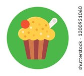 popcorn vector icon    Shutterstock .eps vector #1200931060