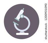 microscope vector icon   Shutterstock .eps vector #1200931090