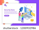 security  safety and... | Shutterstock .eps vector #1200932986
