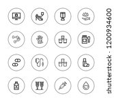 illness icon set. collection of ... | Shutterstock .eps vector #1200934600