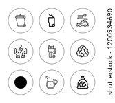 conservation icon set.... | Shutterstock .eps vector #1200934690