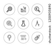 discovery icon set. collection... | Shutterstock .eps vector #1200935890