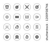 competitive icon set.... | Shutterstock .eps vector #1200938746
