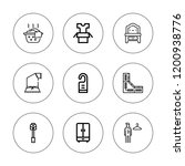 hanger icon set. collection of... | Shutterstock .eps vector #1200938776