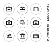 voyage icon set. collection of...   Shutterstock .eps vector #1200942463