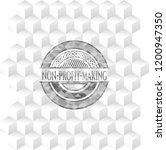non profit making grey emblem.... | Shutterstock .eps vector #1200947350