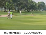 golf is a sport. players use...   Shutterstock . vector #1200950050
