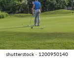 golf is a sport. players use...   Shutterstock . vector #1200950140