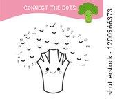 educational game for kids. dot... | Shutterstock .eps vector #1200966373
