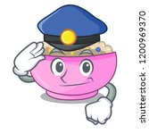 police character a bowl of... | Shutterstock .eps vector #1200969370