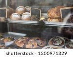 bakery bread pastry sweets... | Shutterstock . vector #1200971329