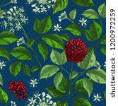 realistic botanical ink sketch... | Shutterstock .eps vector #1200972259
