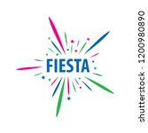 abstract logo for the fiesta.... | Shutterstock .eps vector #1200980890