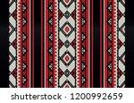 traditional folk sadu arabian...   Shutterstock .eps vector #1200992659