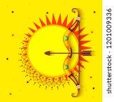 illustration poster or banner... | Shutterstock .eps vector #1201009336