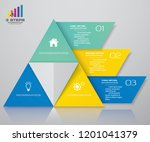 3 steps pyramid with free space ...   Shutterstock .eps vector #1201041379