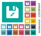 compress file multi colored... | Shutterstock .eps vector #1201084069