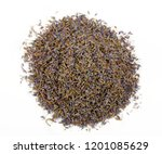 dried lavender herb bud flower... | Shutterstock . vector #1201085629
