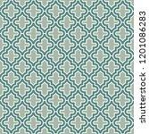 oriental traditional pattern.... | Shutterstock .eps vector #1201086283