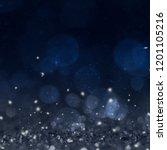 christmas light background. ...   Shutterstock . vector #1201105216