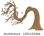 an image of a twisted windy day ...   Shutterstock .eps vector #1201135366