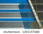 abstract modern architectural... | Shutterstock . vector #1201157680