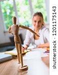 she has a new hobby | Shutterstock . vector #1201175143