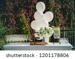 Wedding Reception Table With...