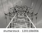modern outdoor electrical power ... | Shutterstock . vector #1201186006