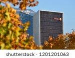 vilnius  october 12  the head...   Shutterstock . vector #1201201063