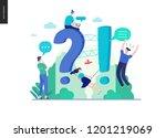 business  color 3  faq  modern...   Shutterstock .eps vector #1201219069