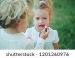 beauty  look  fashion. baby...   Shutterstock . vector #1201260976