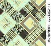 seamless pattern patchwork... | Shutterstock . vector #1201262443