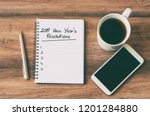 new year concept   2019 number... | Shutterstock . vector #1201284880