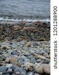 cobbles in acadia national park   Shutterstock . vector #1201288900