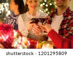 holidays and celebration... | Shutterstock . vector #1201295809