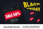 vector page black friday sale....